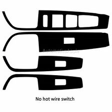 Window Switch Real Carbon Decal Sticker For Hyundai Sonata LF