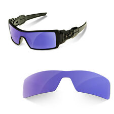 Polarized Replacement Lenses for oakley oil rig purple mirror color
