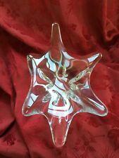 FLAWLESS Stunning BACCARAT Crystal STARFISH SPLASH STINGRAY Centerpiece BOWLDISH