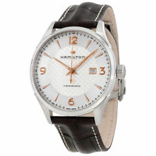 New Hamilton Jazzmaster Viewmatic Leather Strap Men's Watch H32755551