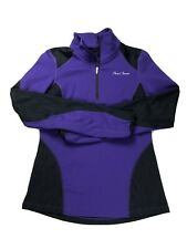 PEARL IZUMI Black Long Sleeve 1/2 Zip Cycling Top Women's Small