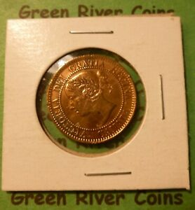 1859 Canadian  Large Cent Victoria  #J59