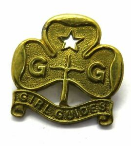 Vintage Girl Guides Badge By Collins London
