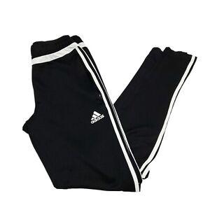 Adidas Climacool Soccer Pants Sweatpants Joggers Womens Small S 8-10 Black