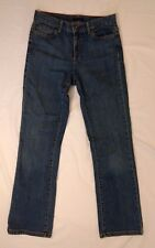Tommy Hilfiger 4R straight leg medium wash blue jeans Womens