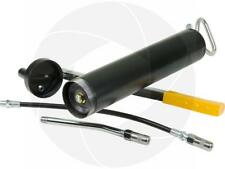 8500PSI Heavy Duty Manual Hand Lever Lubrication Grease Gun with Hose Connectors