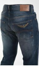 ARMANI JEANS Cotton-Straight-Men-Jeans Size Waist 33 Inseam 34