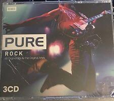 "PURE ROCK 45 ORIGINAL ARTISTS 3 CD SET BRAND NEW ""GREAT"" SONG LIST !!!"