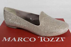 Marco Tozzi Slipper Ballerina Pumps gold NEU!!
