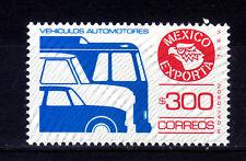 Mexico Exporta#1136a.inverted burleage high florescent frt. Paper 7,unwmk.MNH.