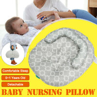 Nursing Breastfeeding Baby Support Pillow Newborn Infant Feeding Cushion
