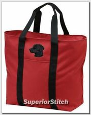Curly Coated Retriever embroidered tote bag Any Color