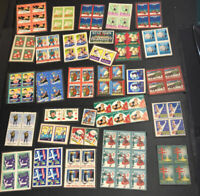 ODD LOT OF 30 ASSORTED CHARITY (CHRISTMAS) SEALS ON PAPER DUPLICATION 847A