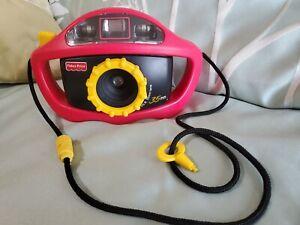 Fisher Price 1997 Red Yellow 35 mm Camera
