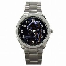 Werewolf Fan Scarey Wolf Halloween Movie Stainless Steel Watch