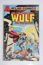 Wulf The Barbarian #1 VG (1975) Atlas Comics