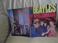 THE BEATLES GENUINE 1963  ROYAL COMMAND PERFORMANCE MAGAZINE FAB CONDITION !