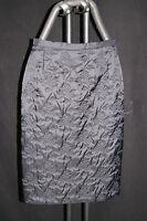 TUZZI Edler Damen Rock, schwarz gemustert, ladies skirt, black, GR. 36 S, neu