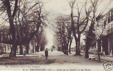 CPA Var Brignoles Cours de la Liberté + Ecoles (p82754)