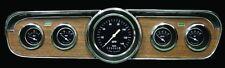 "1965 1966 Ford Mustang Hot Rod Series 5 Gauge Package 75-10 Ohm 3-3/8"" Speedo"