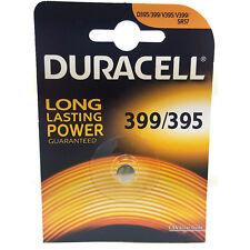1 x Duracell 399 395 SR927W SR57 AG7 D399 Watch Battery