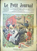 Le Petit Journal N°893 29/12/1907 Bombance de Noel, les drames de la mer