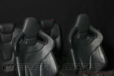AUDI A5 S5 RS5 8T RECARO Leder Sport Sitze Lederausstattung black seats interior
