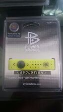 POWER BALANCE Neon Yellow Silicone Active Bracelet Medium NEW!