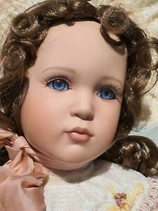 Isabella  Porcelain Doll by Pamela Phillips