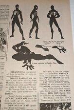 Comic Reader #215 Street Enterprises Early Black Costume Spider-Man Appearance!
