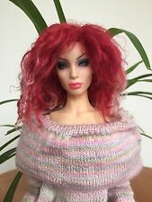 New Tibetan lambskin wig LE5 for Superdoll Sybarite doll