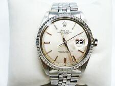 Vintage Rolex 1603 36mm Datejust SS Silver Dial Jubilee Bracelet c.1978