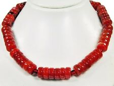 Gorgeous Necklace made of Gemstones Carnelian Wheel