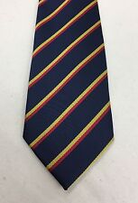 REME Polyester Striped Tie, Army, Military, Present, Gift, Electrical Engineers