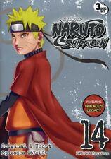 Naruto Shippuden Uncut Set 14 [New DVD] Full Frame, Subtitled, 3 Pack