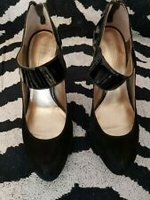 French connection Black Suede shoes size 6 - Worn