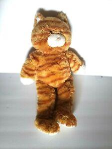 Floppy Kitty Tabby Build-A-Bear Workshop BAB Retired Plush Stuffed Animal Cat