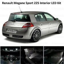 PREMIUM Renault Sport Megane 225 Bright White LED interior Light Kit Full