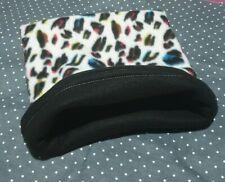 Snuggle Pouch Cuddle Pouch Bag Sack Ideal For Guinea Pig Rat  - Leopard Design