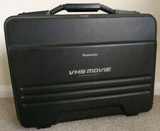 Black PANASONIC VW-SHM5E VHS Movie System Case - Hard Travel Camcorder Case