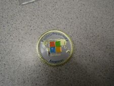 CHALLENGE COIN BUSINESS PRODUCTIVITY MICROSOFT SERVICES SECURE AMERICAS
