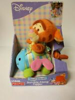 Fisher Price Winnie the Pooh Bumble Along Tigger Baby Toy Plush Disney Shakes
