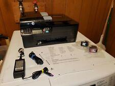 HP OfficeJet 4500 Wireless All-In-One Inkjet Printer W/ Ink USB Pwr Cord NO TRAY