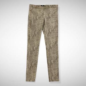 H&M Women's Animal Print Skinny Pants