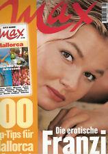 MAX Magazin 08/1998, FRANZISKA VAN ALMSICK, Mallorca