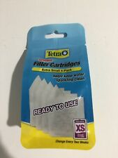 New listing Tetra Whisper 4-Pack Xs Filter Cartridges Extra Small Activated Carbon Aquarium