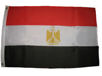 3x5 Egypt Eygpt Super-Poly Premium Quality Fade Resistant Flag 3'x5' Banner