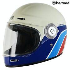 Origine Vega Classic Full Face Retro Motorcycle Helmet - White