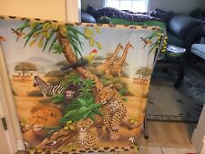 Jungle Scene Peel And Stick Wall Mural Roll  3 Feet Tall