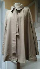 Exquisite Joseph camel silk/rayon loose jacket with added belt & necktie bnwt 40